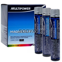 Multipower Magnesium Liquid 250mg - 20 fiolek
