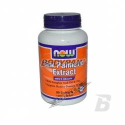 NOW Foods Saw Palemetto Extract - 90 kaps.
