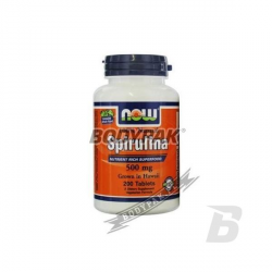 NOW Foods Spirulina - 200 tabl.