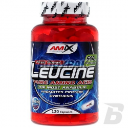 Amix L-Leucine PURE 1000mg - 120 kaps.
