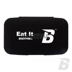 BODYPAK Pill Box BLACK [Eat It] - Opakowanie na Tabletki