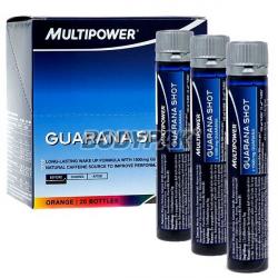 Multipower Guarana Shot - 20 fiolek