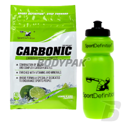 SportDefinition Carbonic - 1kg + Bidon 650ml - 1szt.