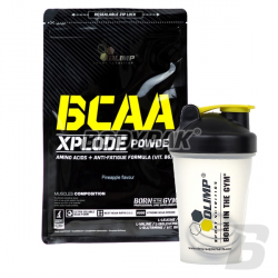 Olimp BCAA Xplode - 1000g + Olimp Shaker Sports 2 ND' TECH - 400ml