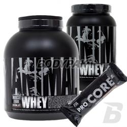 Universal Animal Whey – 1816g + 908g + FA CORE ProCore Protein Bar - 80g [GRATIS]