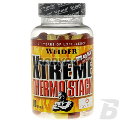 Weider Xtreme Thermo Stack - 80 kaps.