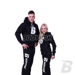 Bodypak Dres Czarny (bluza + spodnie el z haftem) – 1 komplet