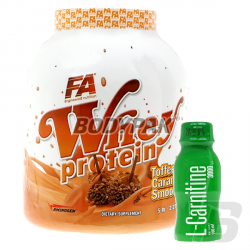 FA Nutrition Whey Protein - 2270g + L-Carnitine 3000 (100ml) - 1 amp. [GRATIS]