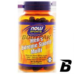NOW Foods Men's Extreme Sports Multivit - 90 kaps.