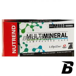 Nutrend Multimineral Compressed - 60 kaps.