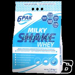 6PAK Nutrition Milky Shake Whey - 1800g