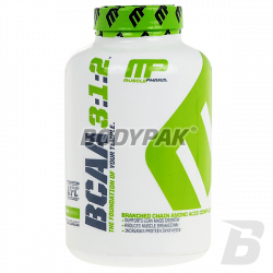 MusclePharm BCAA 3:1:2 - 240 kaps.