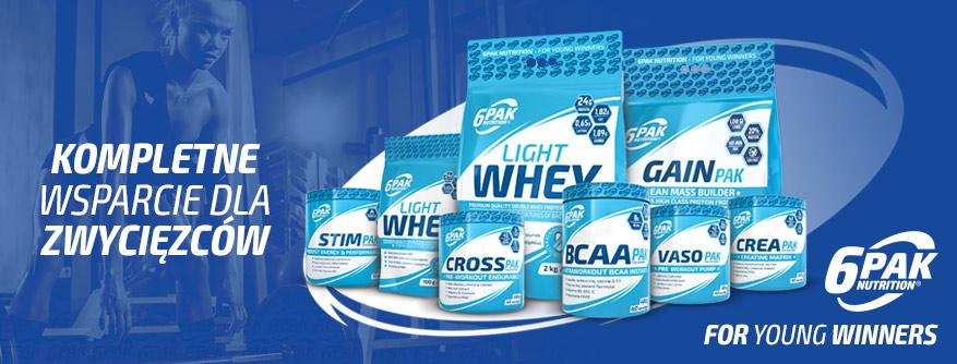 Produkty 6PAK Nutrition już w sprzedaży!