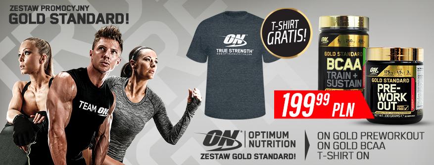 ZESTAW GOLD STANDARD - T-SHIRT GRATIS!