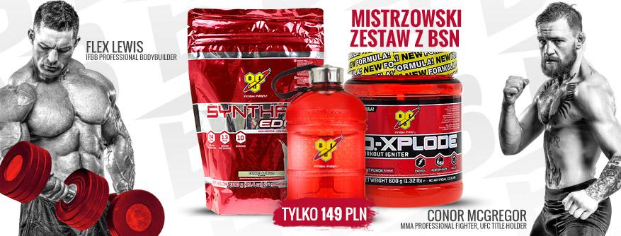 MISTRZOWSKI ZESTAW Z BSN - TYLKO 149 PLN!