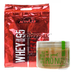 Activlab Whey Protein 95 - 1500g + Fitness Authority So good! Pro Nuts Butter - 450g GRATIS