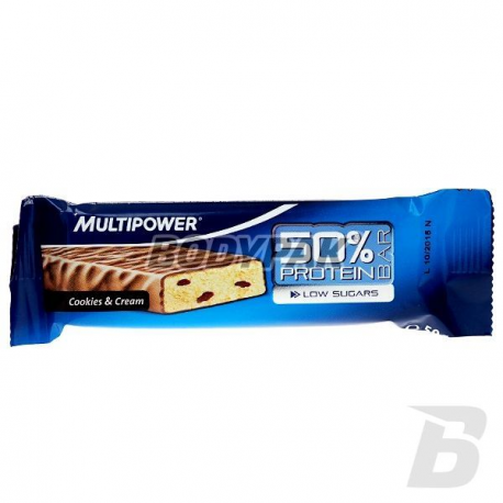 Multipower 50% Protein Bar - 50g