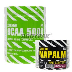 Fitness Authority Xtreme Napalm Pre-Contest - 224g + Xtreme BCAA 5000 - 400g