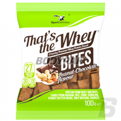 SportDefinition That's The Whey Bites - 100g