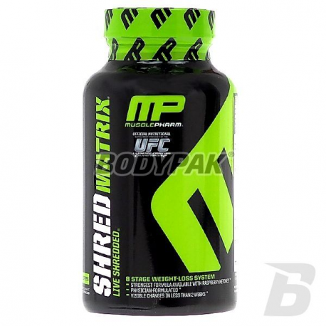 MusclePharm Shred Matrix - 120 kaps.