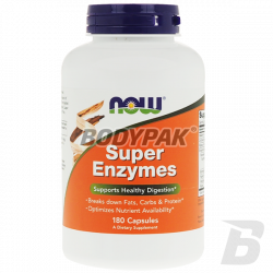 NOW Foods Super Enzymes - 180 kaps.