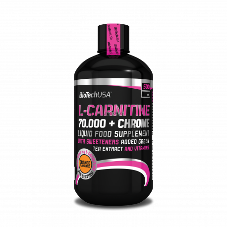 BioTech L-Carnitine 70.000 + Chrome - 500 ml