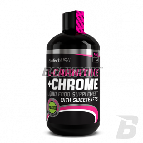 BioTech L-Carnitine + chrome - 500ml
