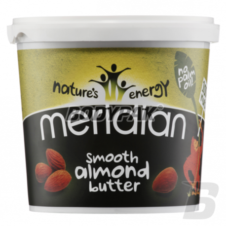 Meridian Natural Almond Butter Smooth - 1kg