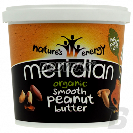 Meridian Organic Peanut Butter Smooth - 1kg