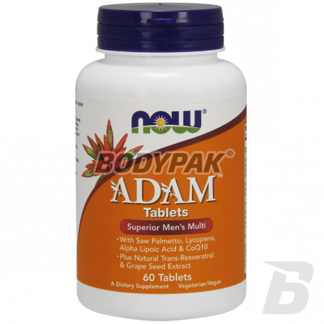 NOW Foods Adam - 60 tabl.