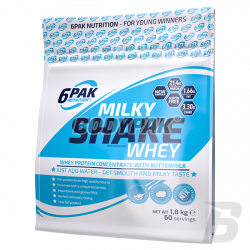 6PAK Nutrition Milky Shake Whey - 1800g
