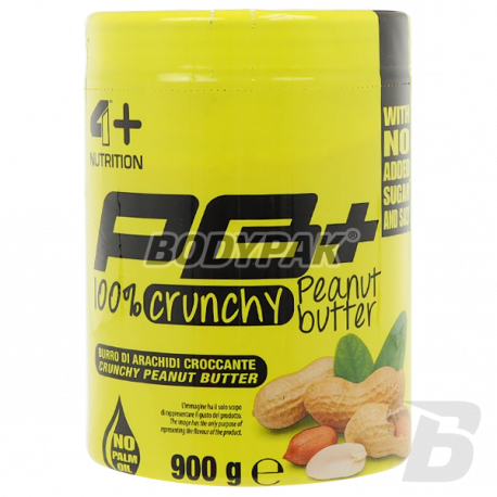 FOURPLUS 4+ Peanut Butter Crunchy [10.2017] - 900g
