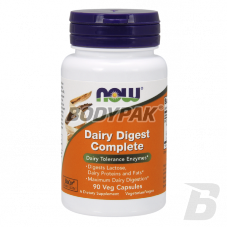 NOW Foods Dairy Digest Complete - 90 kaps.