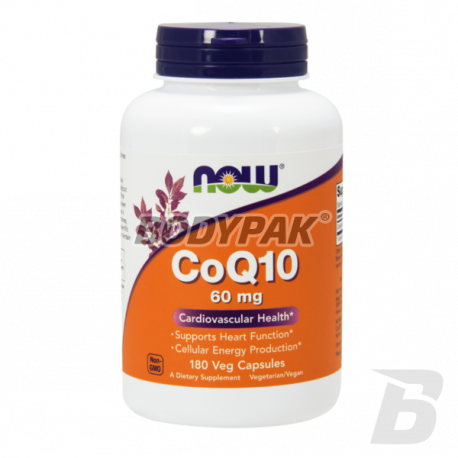 NOW Foods Coenzyme Q10 60mg - 180 kaps.