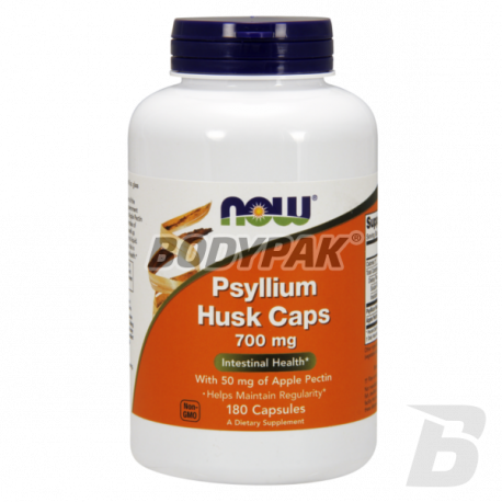 NOW Foods Psylium Husk Caps - 180 kaps.