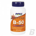 NOW Foods Vitamin B-50 - 100 kaps.