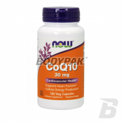 NOW Foods Coenzyme Q10 30mg - 120 kaps.