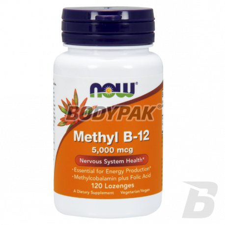 NOW Foods Methyl B-12 5000mcg - 120 kaps.