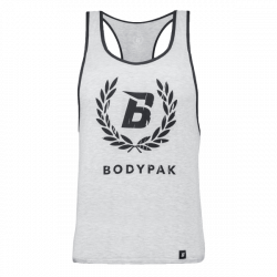 BODYPAK Tank Top GREY Laur - 1 szt.
