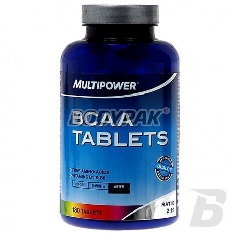 Multipower BCAA - 180 tabl.