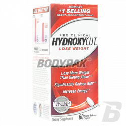MuscleTech Hydroxycut Pro Clinical - 60 kaps.