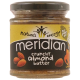 Meridian Natural Almond Butter Crunchy - 170g