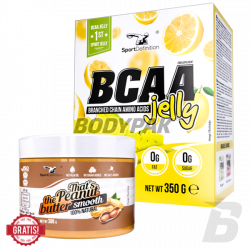 Sport Definition BCAA Jelly - 350g + Sport Definition That's the Peanut Butter Smooth - 300g [GRATIS]