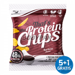 Sport Definition That's The Protein CHIPS [barbecue] -  6 x 25g