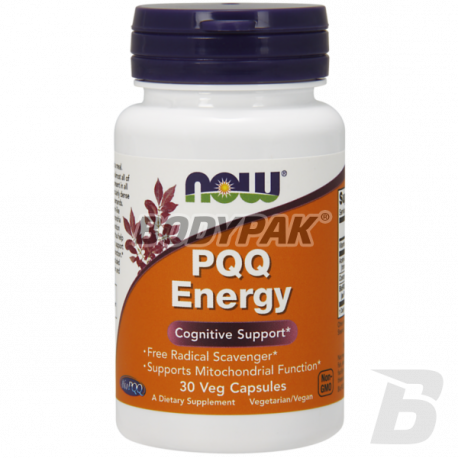 NOW Foods PQQ Energy 30 kaps.