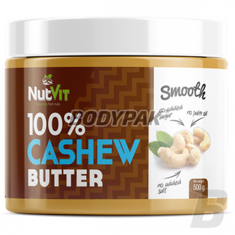Ostrovit NutVit 100% Cashew Butter Smooth - 500g