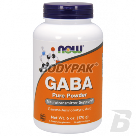 NOW Foods GABA Powder - 170g