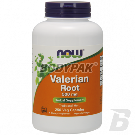NOW Foods Valerian Root 500mg - 250 kaps.