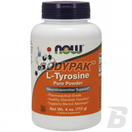 NOW Foods L-Tyrosine Powder - 113g