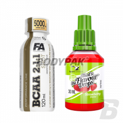 Sport Definition That's the Flavour Drops - 30ml + Performance BCAA Shot - 120ml GRATIS